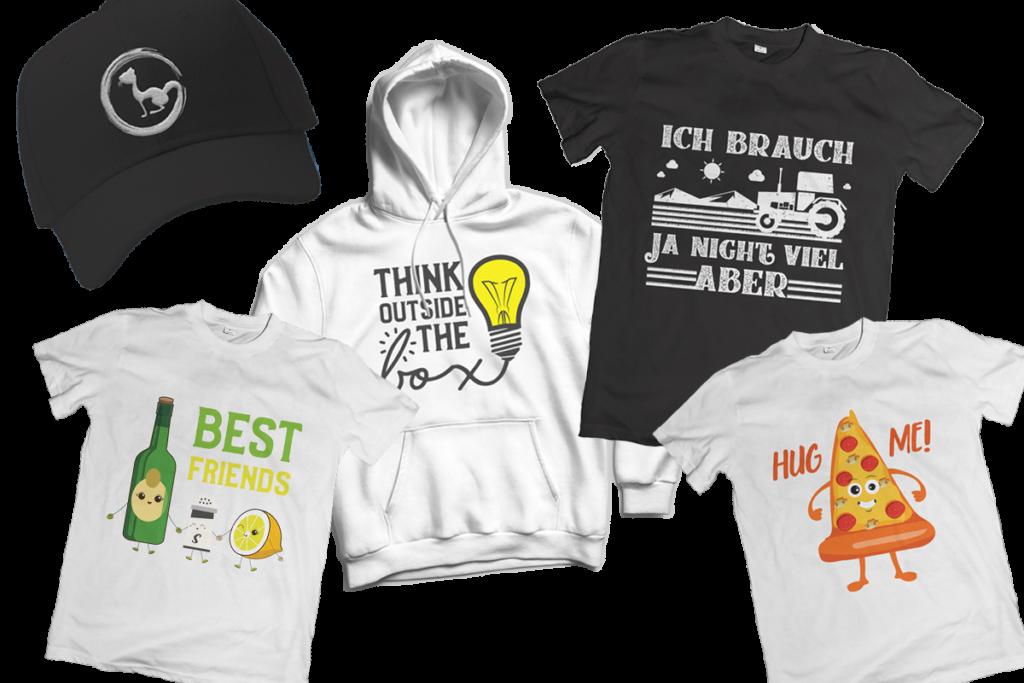 Merch Designs Erstellung T-Shirt