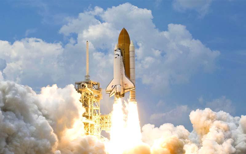 Rakete Start 800x500